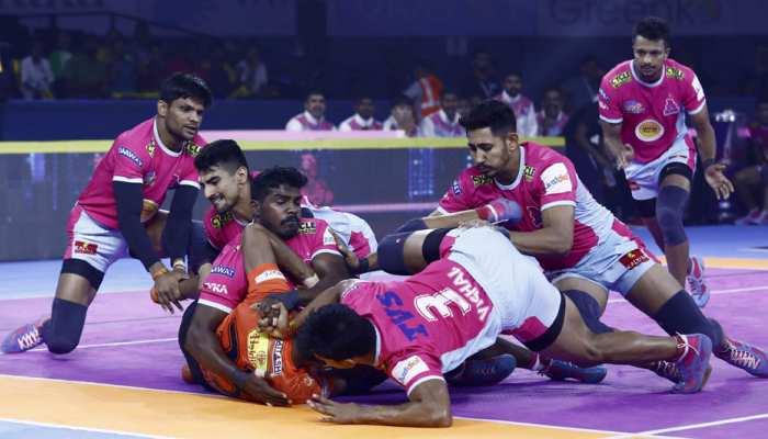 प्रो-कबड्डी लीग 7: जयपुर की विजयी शुरुआत, मुंबा को दी करारी शिकस्त