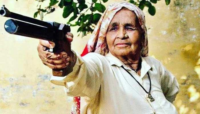 अब 'शूटर दादी' ने साधा अमेरिकी राष्ट्रपति पर निशाना, कुछ ऐसे उड़ाया ट्रंप का मजाक