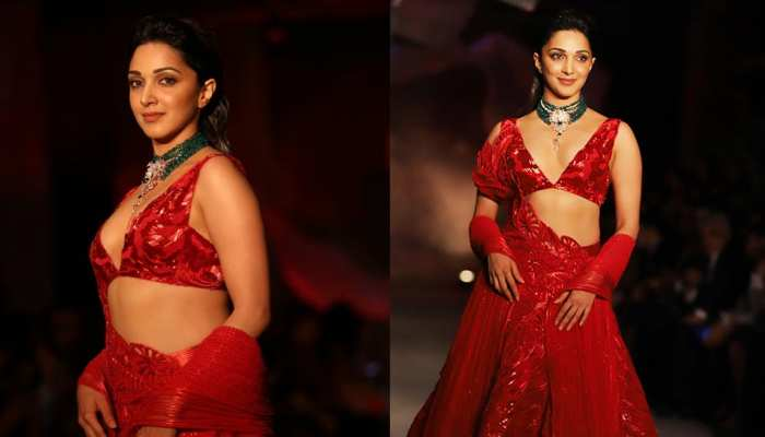 Kiara Advani appeared in a different style in ICW 2019, see photos
