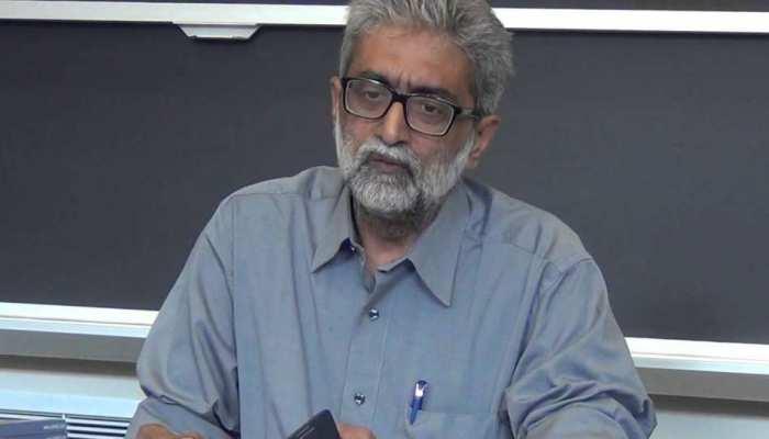 पुणे पुलिस ने कोर्ट को बताया, 'हिज्बुल नेताओं से था गौतम नवलखा का संपर्क'
