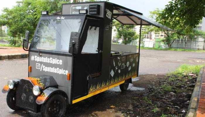 महाराष्ट्र में पहला ई-फूड ट्रक बनाने का दावा, मुंबई के इस शख्स ने कर दिखाया कारनामा