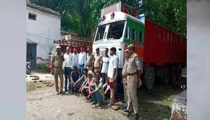 कौशाम्बी: ट्रक चोर गिरोह का खुलासा, 6 गिरफ्तार, 7 फरार और 2 अवैध तमंचा बरामद