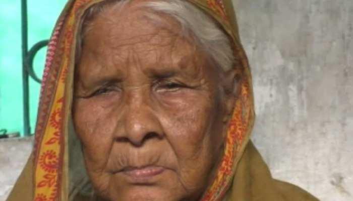 बिहार : दाने-दाने को मोहताज हुई स्वतंत्रता सेनानी की पत्नी, लोगों से मांग रही रोटी और दवाई