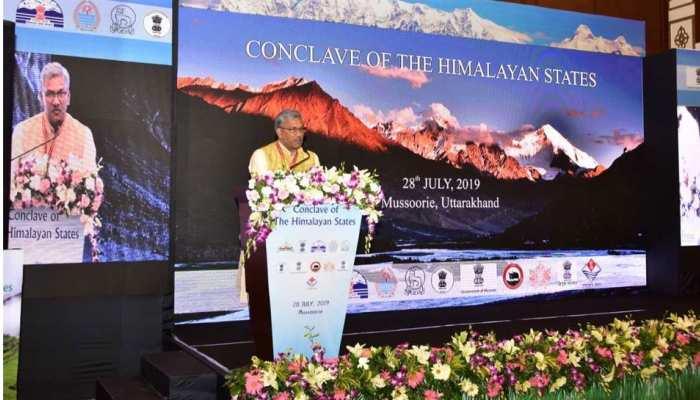 मसूरी में हिमालयन कॉन्क्लेव शुरू, वित्त मंत्री निर्मला सीतारमण भी पहुंचीं