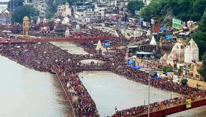 Kawad Yatra: The crowd of devotees of Bhola in Haridwar