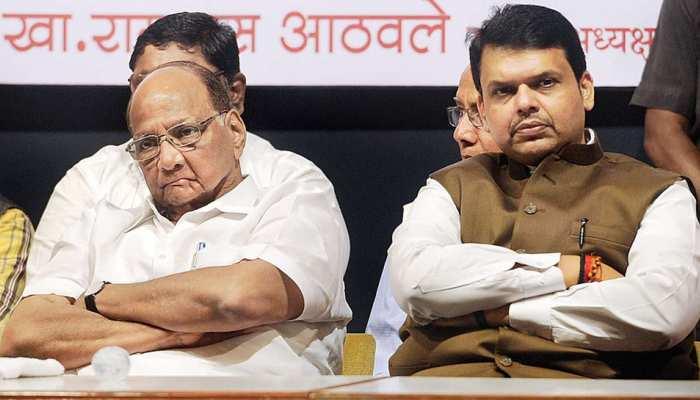 शरद पवार पर CM फडणवीस का पलटवार, विरोधी दलों के नेता BJP के प्रति आकर्षित