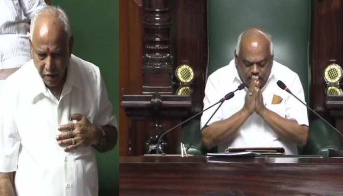 कर्नाटक: CM येदियुरप्पा ने साबित किया बहुमत, स्पीकर रमेश कुमार ने दिया इस्तीफा
