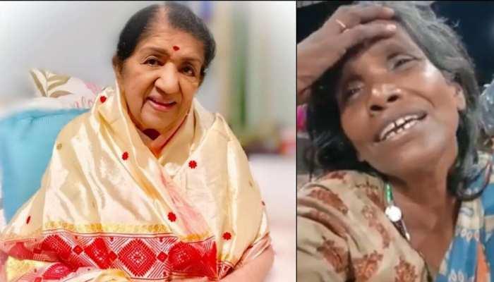 इस महिला ने गाया लता मंगेशकर का गीत 'एक प्यार का नगमा', VIDEO हो रहा VIRAL