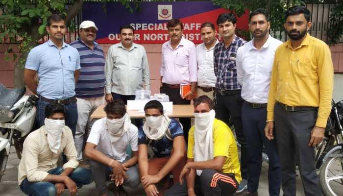 दिल्ली पुलिस ने पकड़ा शातिर गैंग, वारदात से पहले नाबालिग से कराता था मुख़बरी