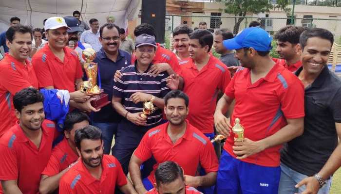 राजस्थान: विधायकों और पत्रकारों के बीच हुए क्रिकेट मैच में RAS एकादश ने जीत की हासिल
