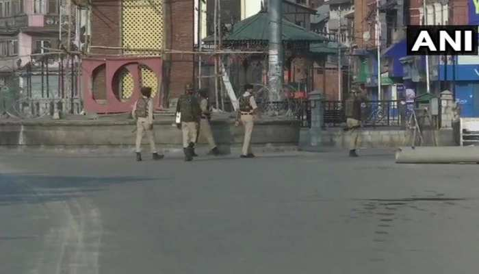 Jammu & Kashmir: Security tightened in Jammu in view of the imposition of section 144