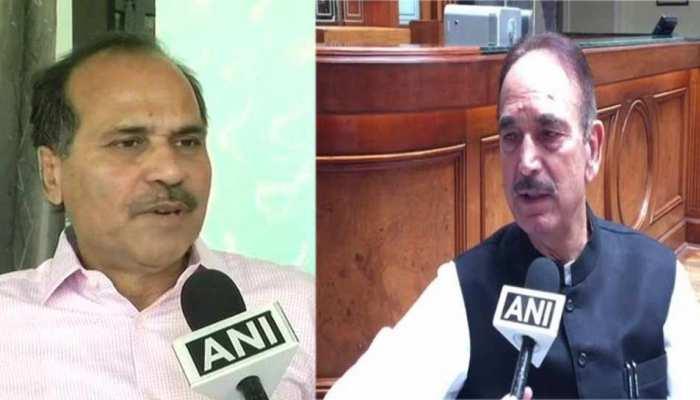 कश्मीर मुद्दे पर कांग्रेस नेताओं ने लोकसभा और राज्यसभा में दिया स्थगन प्रस्ताव