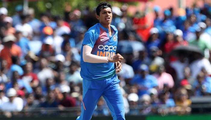 नवदीप सैनी अपने पहले इंटरनेशनल मैच में कर बैठे गुस्ताखी, ICC ने सुनाई ये सजा