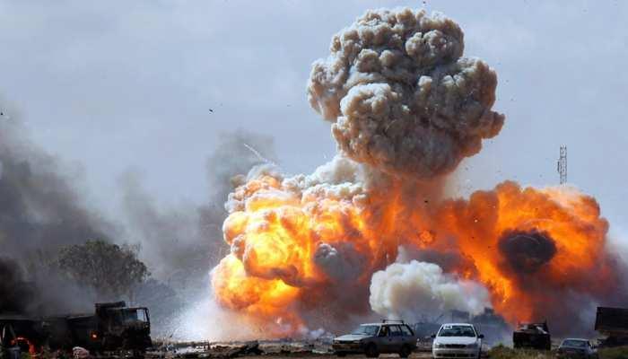 लीबिया के मुर्जक शहर पर एयर स्ट्राइक में 42 की मौतें