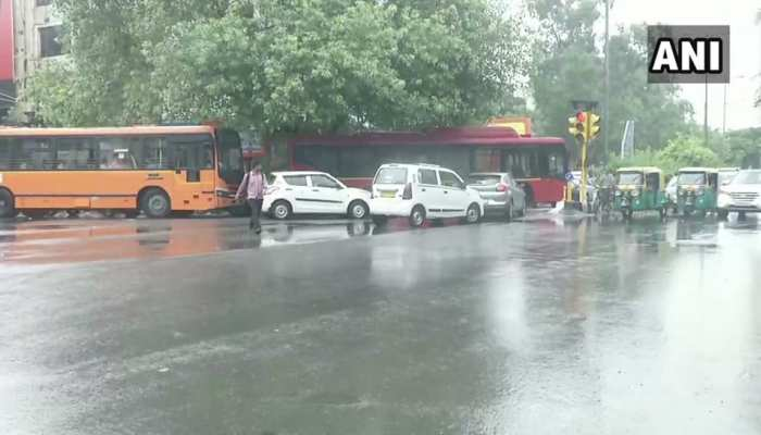 Photos: Parts of national capital Delhi receives rainfall