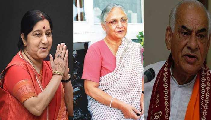 सुषमा स्वराज के साथ ही दिल्ली ने एक साल के भीतर अपने 3 पूर्व मुख्यमंत्रियों को खोया