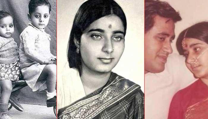 ten Unseen Photos of Bjp Leader Sushma Swaraj
