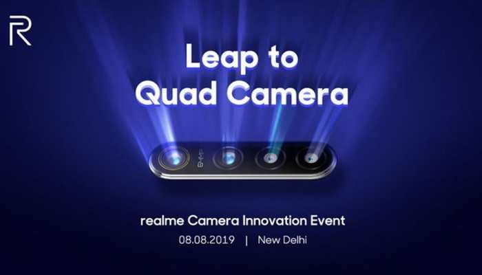 4 रियर कैमरे वाला Realme 5 आज हो सकता है लॉन्च, 64MP का होगा प्राइमरी लेंस
