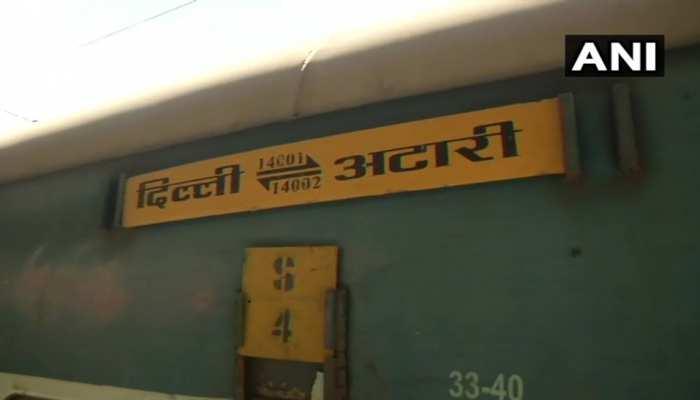 76 भारतीय, 41 पाकिस्तानी यात्रियों को लेकर दिल्ली पहुंची समझौता एक्सप्रेस, अटारी में फंसी थी ट्रेन