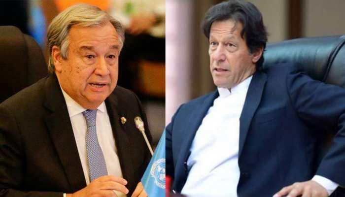 'कश्मीर...कश्मीर' चिल्ला रहा पाकिस्तान, UN महासचिव ने जवाब देना भी मुनासिब नहीं समझा