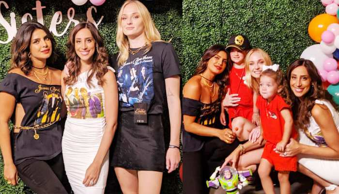 PICS: These pictures of Priyanka Chopra with Sophie Turner also went viral