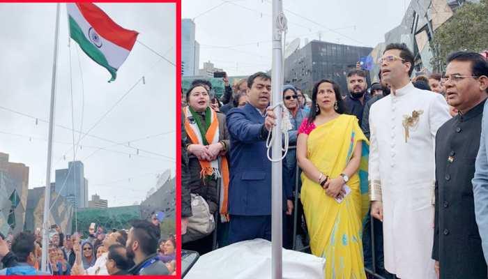 Karan Johar hoisted Indian flag in Melbourne, see photos