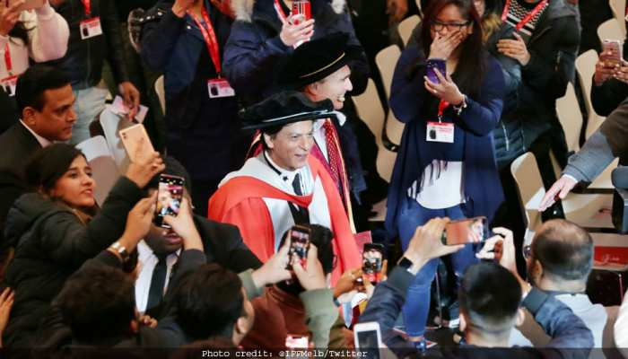 Shahrukh Khan gets his doctorate for the 5th time, see photos of MELBOURNE