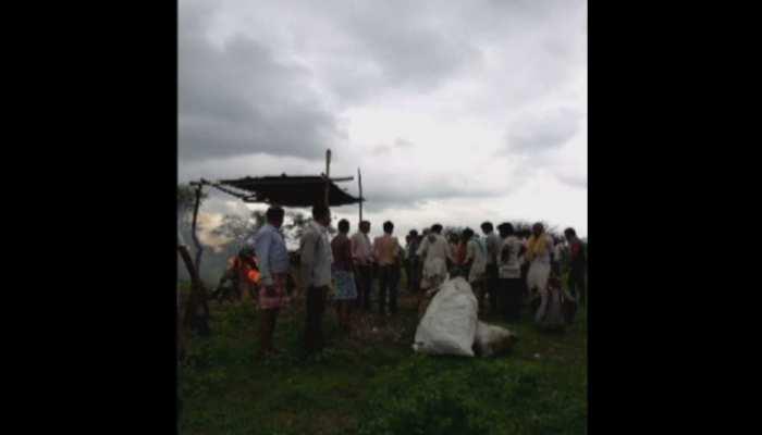 बारां के किशनपुरा में मुक्तिधाम की नहीं है समुचित व्यवस्था, शव दाह में होती है परेशानी