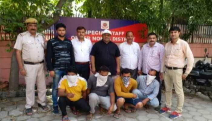 दिल्लीः लूटपाट के आरोप में इंटरनेशनल गोल्ड मेडलिस्ट रेसलर सहित 4 गिरफ्तार