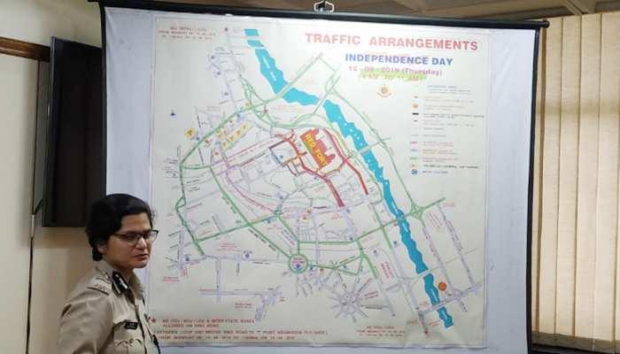 दिल्लीः 13 और 15 अगस्त को इन रास्तों पर जाने से बचें, ट्रैफिक पुलिस ने जारी की एडवाइजरी