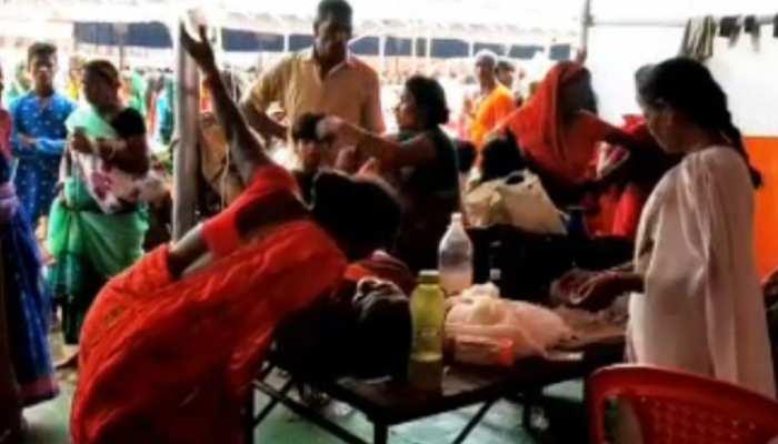 बिहार: लखीसराय के अशोकधाम मंदिर में मची भगदड़, एक श्रद्धालु की मौत