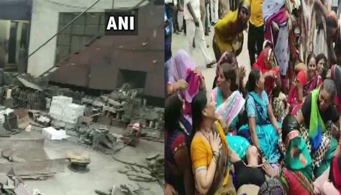 कानपुर: बोगी पार्ट्स बनाने वाली फैक्ट्री में विस्फोट, एक की मौत, कई घायल