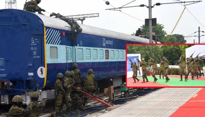 ट्रेन में रहेगी CORAS कमांडो की पैनी नजर, आतंकी हो या नक्सली; अब किसी की खैर नहीं