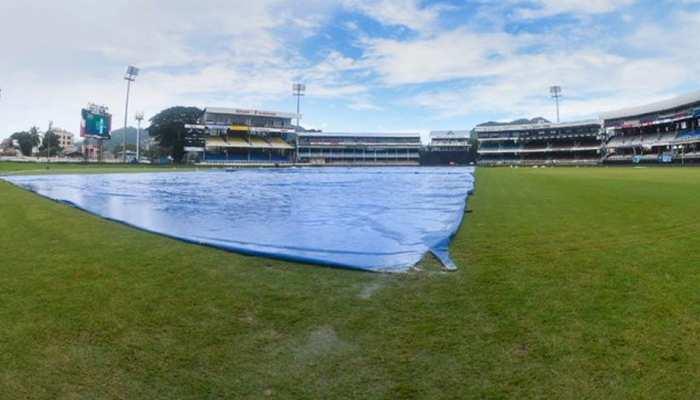 IND vs WI: मैच में बारिश ने दूसरी बार डाली बाधा, जानिए क्या है नया अपडेट