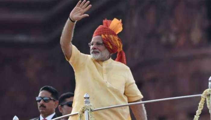 PM मोदी ने 73वें स्वतंत्रता दिवस पर दी बधाई, लालकिले से जम्मू-कश्मीर पर कर सकते हैं बात