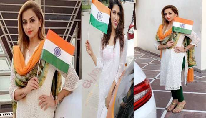 selfiewithtiranga: people share pictures with tiranga