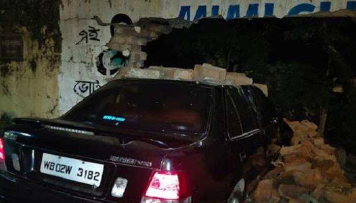 रूपा गांगुली के बेटे की गाड़ी दीवार में टकराई, पूछताछ के लिए पुलिस ले गई थाने