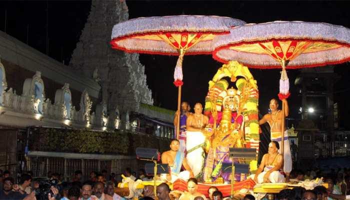 Tirumala: tirupati Garuda seva 15 August