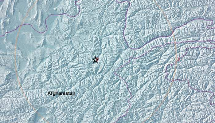 अफगानिस्तान के हिंदुकुश आया भूकंप, रिक्टर पैमाने पर 5.1 तीव्रता मापी गई