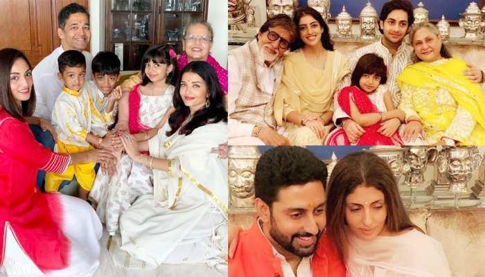 This is how Bachchan family celebrated 'Raksha Bandhan': see PHOTO ALBUM here