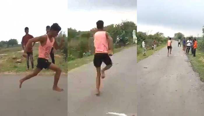 MP के 'उसेन बोल्ट' का देशभर में हल्ला, VIDEO देख खेलमंत्री रिजिजू बोले- 'कोई इसे मेरे पास लाओ'