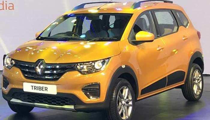 7 सीटर Renault Triber 28 अगस्त को होगी लॉन्च, 5-7 लाख के बीच होगी कीमत