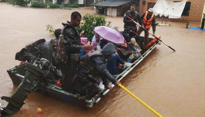 मध्य प्रदेशः भारी बारिश से चंबल नदी उफान पर, टापू में तब्दील हुए मुरैना के 27 गांव