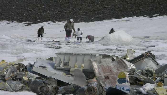 दुर्घटना के 51 साल बाद भारतीय वायुसेना के विमान के हिस्से बरामद