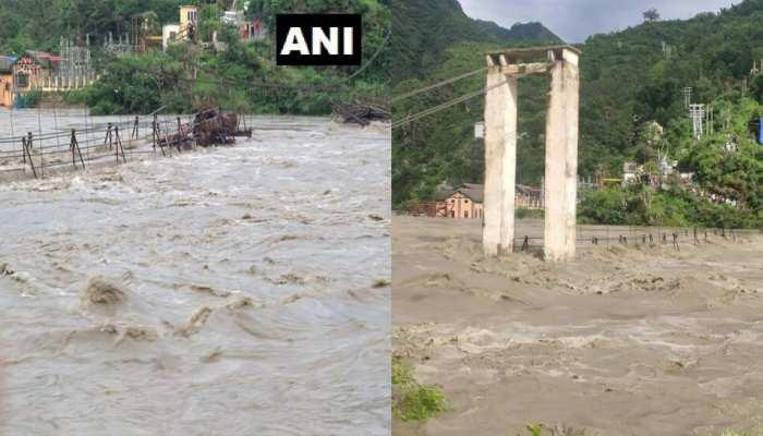 LIVE: उत्तराखंड, हिमाचल में बाढ़-बारिश से मची तबाही, मौसम विभाग ने 5 राज्यों में जारी किया हाई अलर्ट