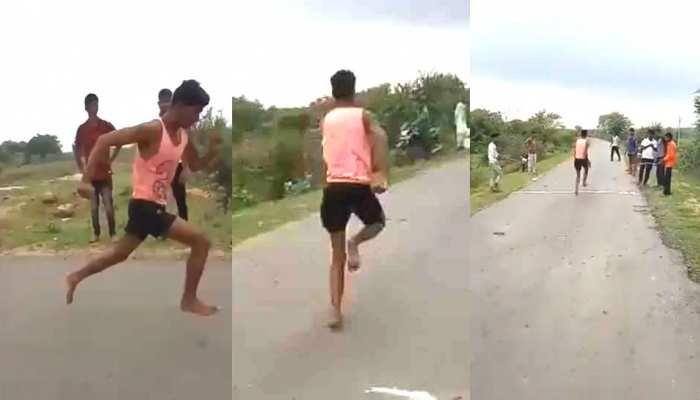 VIDEO: मध्य प्रदेश का 'उसेन बोल्ट' ट्रायल में रहा फिसड्डी, कहा- कमर में दर्द था