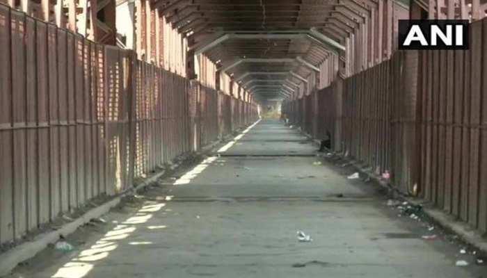 दिल्ली: यमुना नदी का जलस्तर खतरे के निशान के पास, लोहे के पुल पर आवागमन हुआ बंद