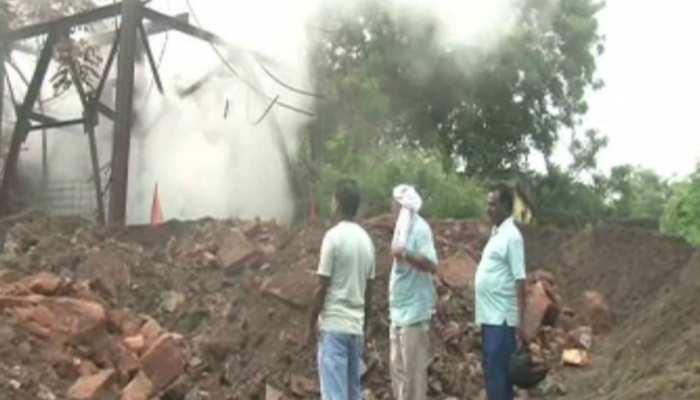 झारखंड: झरिया में बंद खदान से तेज हुआ गैस रिसाव, मजदूरों के परिवार में दहशत