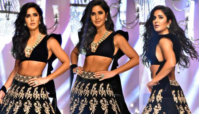 Katrina Kaif Turns Showstopper for Manish Malhotra at Lakmé Fashion week