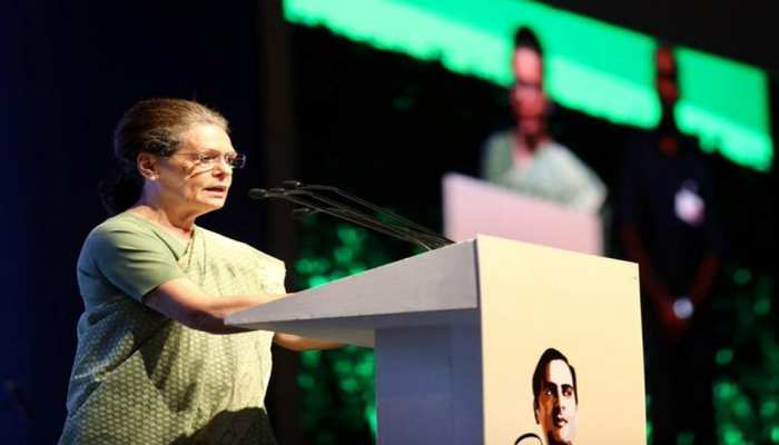 राजीव गांधी ने संस्थानों का इस्तेमाल किसी को डराने के लिए नहीं किया: सोनिया गांधी